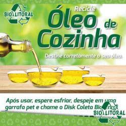 Compra de oleo vegetal usado em fritura