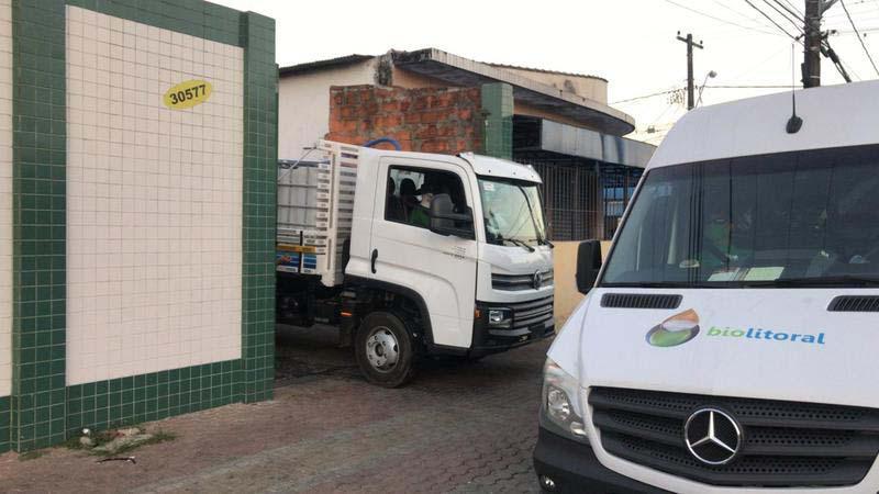 Empresa coleta de oleo usado