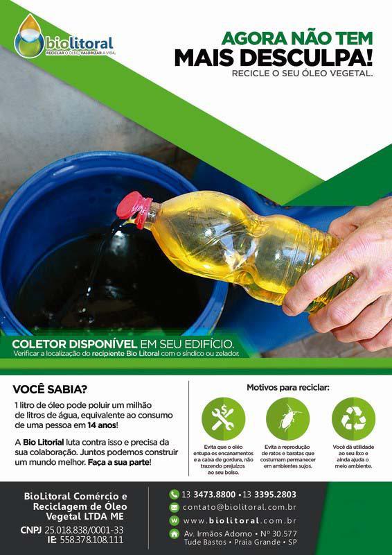 Empresa de reciclagem de oleo de fritura