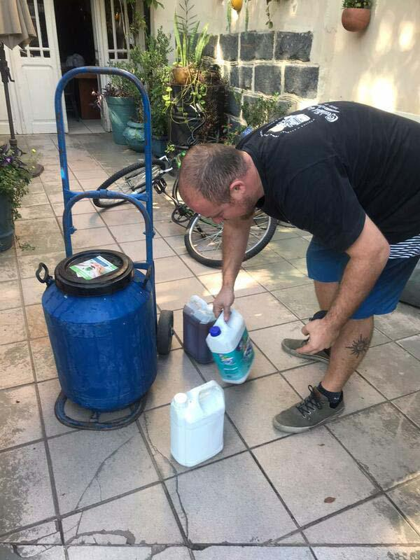 Reciclagem de oleo vegetal