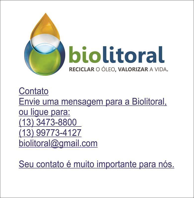 Reciclagem de oleo vegetal usado