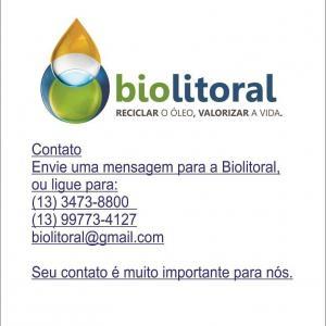 Empresa de reciclagem de oleo vegetal